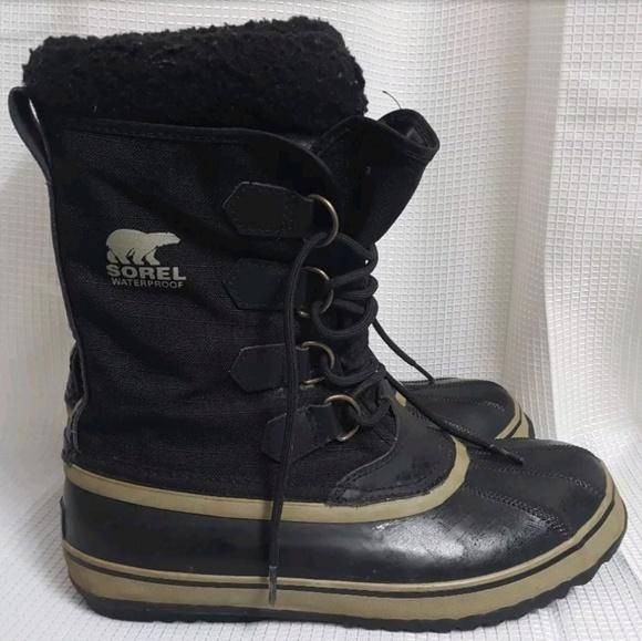 96b7cec360e SOREL Men's 1964 Pac Nylon Insulated Winter Boots